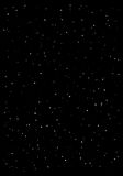 Clusters of star in the dark sky. Black background. Vector illustration Stock Photos