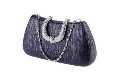 Clutch bag on background Royalty Free Stock Image