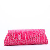 Clutch bag in an elegant design Stock Image
