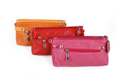 Clutch bags royalty free stock photography