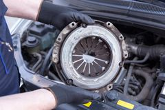 Clutch basket replacement Royalty Free Stock Photography