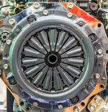 Clutch disc of car engine Royalty Free Stock Image