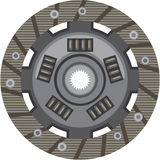 Clutch disc vector Stock Images