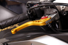 Clutch lever Royalty Free Stock Images