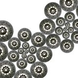 Clutch plate background Stock Photography