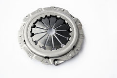 Clutch pressure plate. Isolated on a white background Stock Images