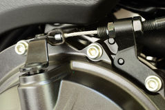 Free Clutch Sling Of Motorcycle Engine Royalty Free Stock Photo - 29805155