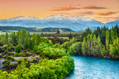 Clutha river Royalty Free Stock Photo
