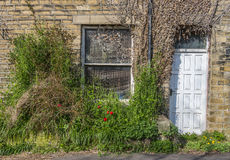 Cluttered doorway Royalty Free Stock Photo