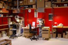 cluttered przestrzeni
