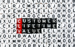 CLV Customer Lifetime Value Stock Image