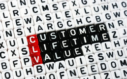 CLV Customer Lifetime Value Stock Images