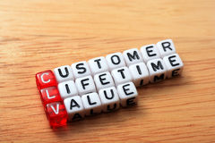CLV-Customer Lifetime Value Stock Images