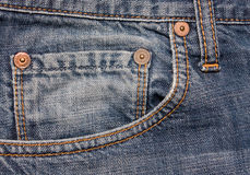 Cly of jeans Royalty Free Stock Images