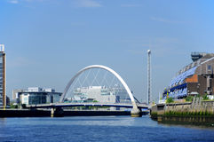 Clyde Arc bridge Stock Photo