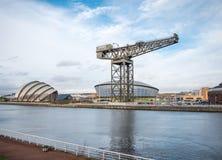 Clyde Auditorium, arène hydraulique et Finnieston tendent le cou, Glasgow Photographie stock libre de droits