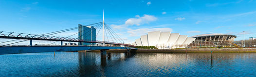 Clyde Auditorium in Glasgow Stockbilder