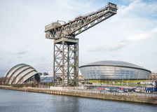 Clyde Auditorium, Hydro Arena and Finnieston crane, Glasgow Stock Photo