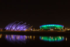 Clyde Auditorium and SSE Hydro Royalty Free Stock Photography