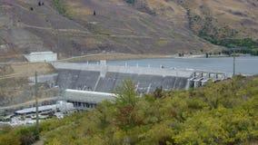 Clyde Dam, Clyde Central Otago Lizenzfreie Stockfotos