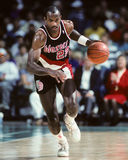 Clyde Drexler, Portland Trailblazers Royalty Free Stock Photos