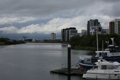 Clyde Quayside July 2017 image stock