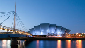 Clydeside panorama at dusk Stock Photo