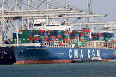 CMA CGM Christophe Colomb Stock Photo