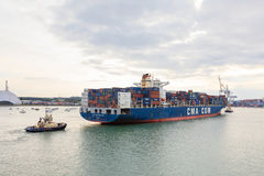 CMA CGM Rabelais Royalty Free Stock Photography