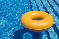 Câmara de ar da piscina Fotos de Stock