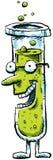 Câmara de ar de teste dos desenhos animados Fotografia de Stock
