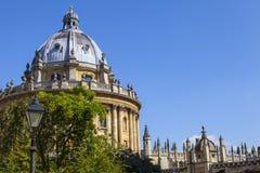 Cámara de Radcliffe en Oxford Imagenes de archivo