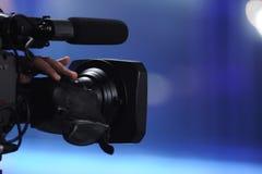 Câmara de vídeo Imagens de Stock Royalty Free
