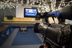 Cámara de vídeo de Digitaces Fotos de archivo