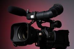 Cámara de vídeo profesional Imagen de archivo libre de regalías