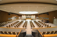 Câmara do Conselho de Segurança das Nações Unidas Imagens de Stock