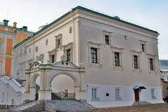 Câmara lapidada do Kremlin de Moscou Foto a cores Foto de Stock Royalty Free