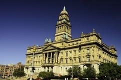 Câmara municipal de Detroit Fotografia de Stock