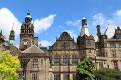 Câmara municipal de Sheffield Fotos de Stock Royalty Free