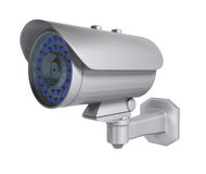 Cámaras de seguridad del CCTV Fotos de archivo