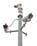 Câmaras de vigilância Imagens de Stock Royalty Free