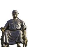 CMaster Sanga-Kulkobkiat, el fundador de Viharnra Sient en Pataya, Tailandia, casa de dios Fotografía de archivo libre de regalías