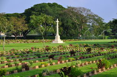 cmentarniana kanchanaburi Thailand wojna Obrazy Stock