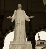 cmentarniana monumentalna statua Fotografia Stock