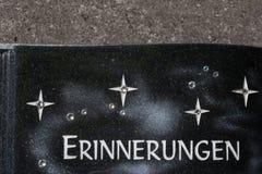cmentarniana pamięci keepsake dekoracja obok grobowa obraz royalty free