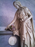 Cmentarniana statua Obraz Royalty Free