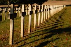 cmentarniani żołnierzy. obraz stock