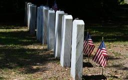 Cmentarniany Headstone przy sawanny Gruzja historycznym cmentarzem zdjęcia royalty free