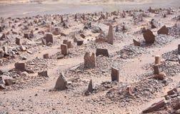 cmentarniany muzułmański stary Obrazy Stock
