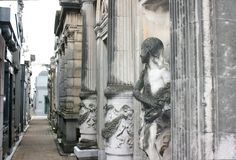 cmentarniany recoleta zdjęcia royalty free